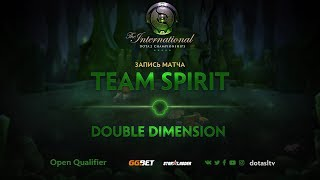 Team Spirit против Double Dimension, Первая карта, Открытая СНГ квалификация к TI8