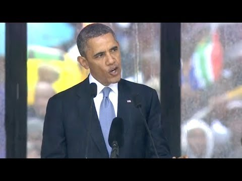 Obama's Complete Nelson Mandela Memorial Speech