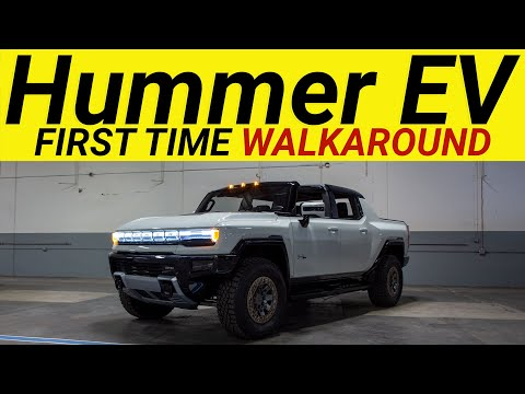 ALL NEW HUMMER EV - First complete walk-around and in the wild review. Everything you need to know