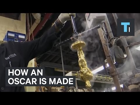 How the Oscar Award Statues are Made