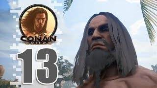 PUSH Q!!! - EP13 - CONAN EXILES (Removing The Bracelet)