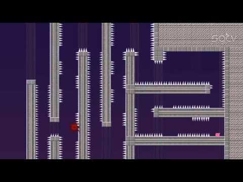 Видео-обзор игры Super Meat Boy