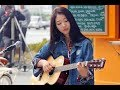 Download Lagu KEREN Cewe Cantik Imut Pandai Main Gitar Asal Kau Bahagia Mp3 Free
