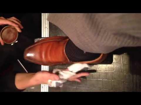 2 Japanese Style shoe shine. Full HD(1080p) (видео)