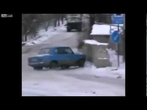 Аварии и ДТП за декабрь 2012 неделя 1 | Car Crash compilation December