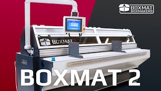 Boxmat 2 - Semi-automatic box making machine