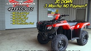 7. 2016 Foreman Rubicon 500 EPS Review of Specs / SALE @ Honda of Chattanooga - TRX500FM6G