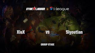 Siyoutian vs Xiuxing, game 1