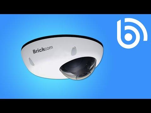 Brickcom MD-100Ap-20 Megapixel Mini IP Dome Camera
