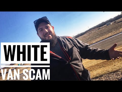 White van Speaker scammer caught and confronted