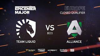 Team Liquid vs Alliance, EPICENTER Major 2019 EU Closed Quals , bo3, game 1 [Mila &Inmate]