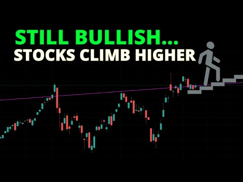 STILL BULLISH... Stocks Climb HIGHER! | Stock Market Technical Analysis | S&P500