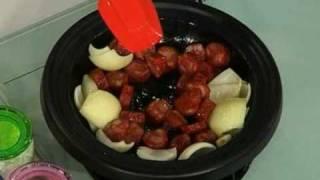 葡國臘腸燜排骨