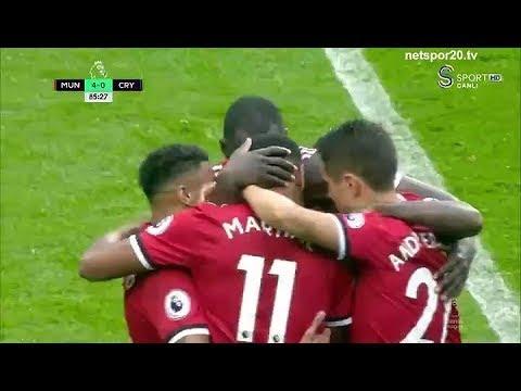 Man Utd vs Crystal Palace 4-0 All Goals & Highlights (30/09/2017) - PREMIER LEAGUE 20171