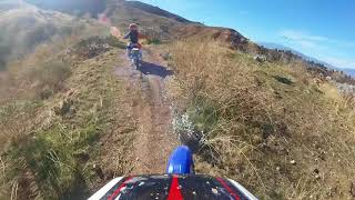 9. KTM 65 off-road trail riding
