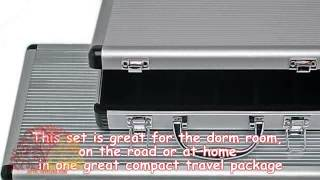 Aluminum Case With Handle Holds 400 Poker Chips
