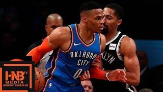 Oklahoma City Thunder vs Brooklyn Nets Full Game Highlights | 12.05.2018, NBA Season