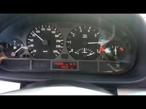 Bmw e46 325xi 0-100 km/h acceleration 192 HP