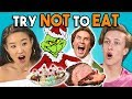Download Lagu Try Not To Eat Challenge - Holiday Movies | Teens & College Kids Vs. Food Mp3 Free