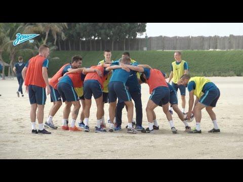 Видео дня на «Зенит-ТВ»: регбийная тренировка на дубайском пляже - DomaVideo.Ru