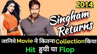 Ajay Devgan SINGHAM RETURNS 2014 Bollywood Movie LifeTime WorldWide Box Office Collection
