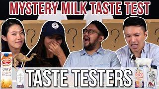 Video MYSTERY MILK TASTE TEST | Taste Testers | EP 46 MP3, 3GP, MP4, WEBM, AVI, FLV Agustus 2018