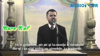 Një pjesë nga Sureja Kaf (më titra shqip) -  Hfz.  Aziz Halili