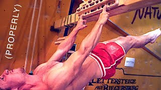 The Front Lever: How to get it done! by Mani the Monkey