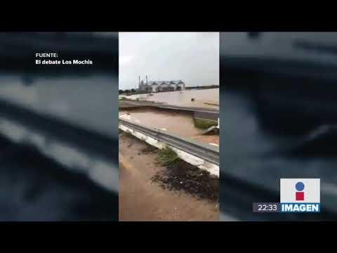 Sinaloa está en crisis por las fuertes lluvias