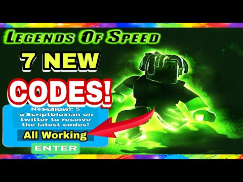 ALL 7 NEW LEGENDS OF SPEED SIMULATOR CODES - New June Updates [ROBLOX]