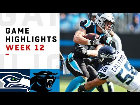 Seahawks vs. Panthers Week 12 Highlights  NFL 2018
