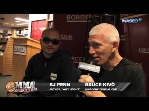 BJ Penns Book and Reaction to UFC 112