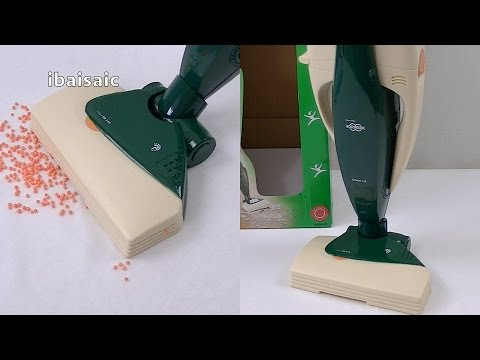 Toy Vorwerk Kobold 130 Vacuum Cleaner Demonstration & Review
