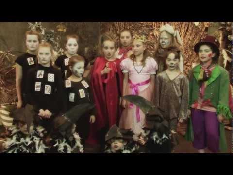Gala Rozdania Klapsów - etiuda Alicja w Krainie Czarów