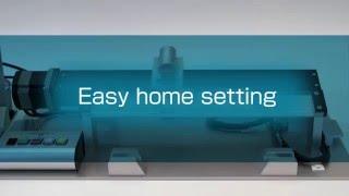 AZ Serisi - Gereksiz Harici Sensörler Daha Hızlı ve Yüksek Hassasiyetli Home pozisyonu'na dönüş sağlıyor.
