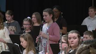 Hahn 5th and 6th Grade Band Concert 2-11-20