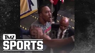 Dwight Howard Challenges Lakers Fan to Fight | TMZ Sports