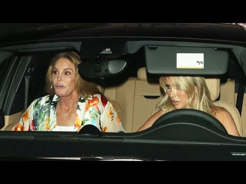 Caitlyn Jenner And Sophia Hutchins Dress Up For Dinner At Craig's