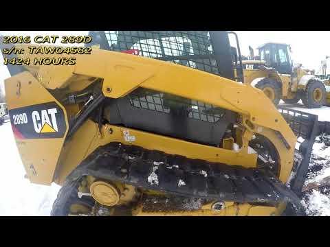 CATERPILLAR CARGADORES MULTITERRENO 289D equipment video 4w7vUc2AZn0