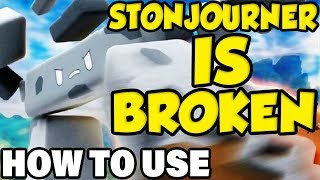 STONJOURNER IS THE MOST OP POKEMON NO ONE IS USING! Pokemon Sword and Shield Stonjourner Moveset by Verlisify