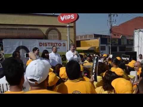 Raúl Flores, dirigente del PRD DF