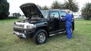 2009 Hummer H3 Full Pre-purchase Inspection.