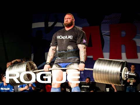 Fitness - 2019 Arnold Strongman Classic - Rogue Elephant Bar Deadlift Highlights