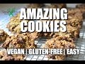 DELICIOUS Chocolate Chip Cookies | Easy, Healthy, Vegan and Gluten Free