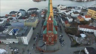Arendal Norway  city pictures gallery : Evening flight Arendal Norway - Drone films Norway