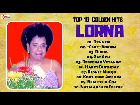 Top 10 Golden Hits of - Lorna | Superhit Konkani Goan Songs