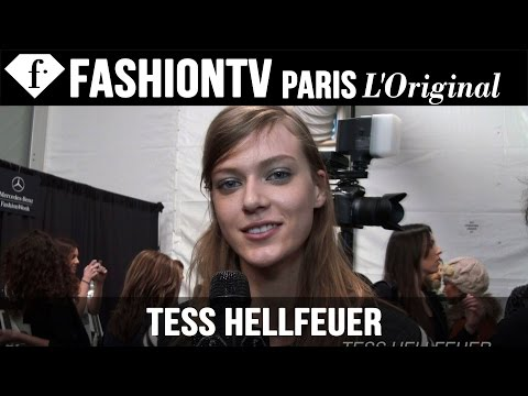 fashiontv - http://www.FashionTV.com/videos MODEL TALK - Tess Hellfeuer opens up to FashionTV about her personal life. Tess is with New York Model Management. She is from Berlin and she's 179 cm tall....