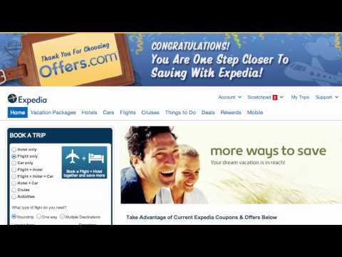 25 Off Expedia Coupon Code Offers Com May 2015