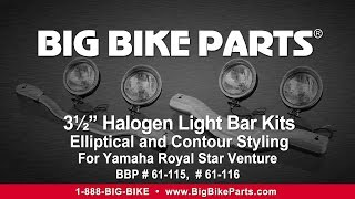 4. Light Bar Kits For Yamaha Royal Star Venture