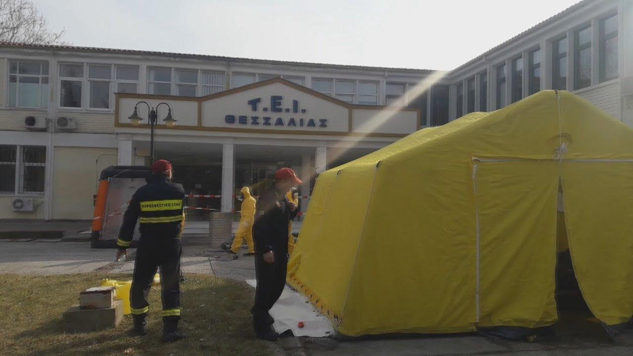 Επιχείρηση της ΕΜΑΚ μετά από ενημέρωση για ύποπτο φάκελο στο ΤΕΙ Θεσσαλίας